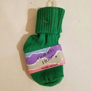 Golden Hose Tube Socks Size 4-5 Shoe Size 2.5-5